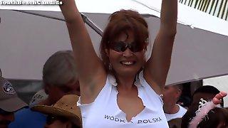 Latina MILF Naked Wet T-Shirt Contest