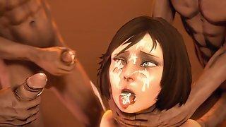 Animated film nice lady gangbang