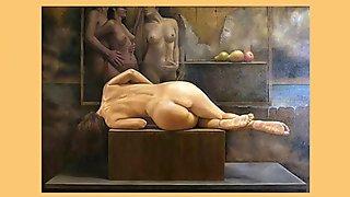 Beautiful woman - Erotic art-2
