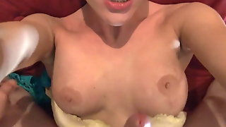 Brother Smells Sister's Panties Fucking Pretty Sister