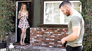 OutOfTheFamily Mom's Fiance Can't Resist New Step-Teen