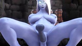 3D Futanari Collection 43