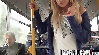 Lindsey Olsen - Ass-Fucked on the Public Bus - Mofos