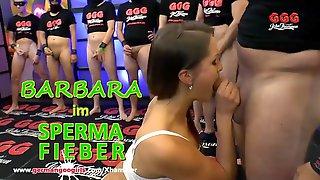 Hot MILF Barbara Bieber pleasing Men in her White Lingerie