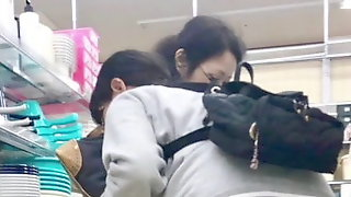 Bukkake in public