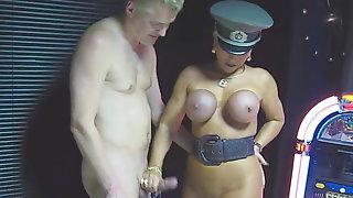 LadyB Big Tits handjob