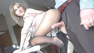 Compilation nylons sucking, fuck, cum-full on myporpanty.com