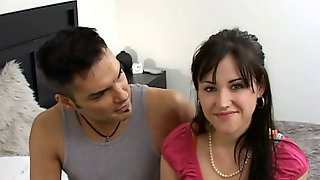 Amateur in heat pounded  hard