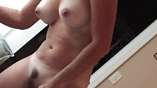 Orgasm sounds from my wife.