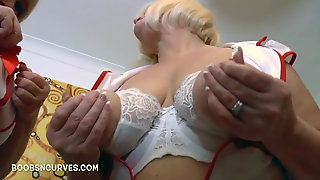 Kinky mature British Nurses