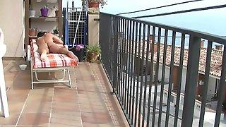 Adela in vacation in spain