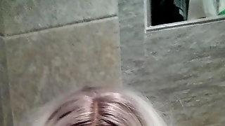 Female Mask Fingering and Groping