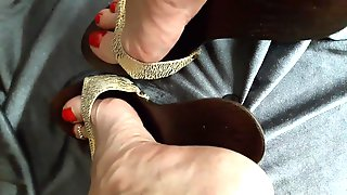 Feet Soles High heels