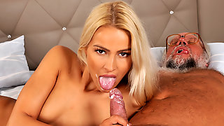Chary Kiss and her a much older lover