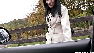 Gorgeous brunette hooker caught on camera SWHORES.COM