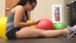 Teen at the Gym