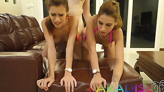 Paradise Gfs - Twins getting fucked on vacation