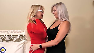 Perfect mature lesbian love