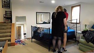 Mistress Brianna binds & gags Ronni
