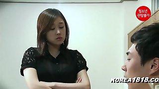 Sexy Korean Teen Home Alone