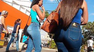 Novinha de jeans vid2