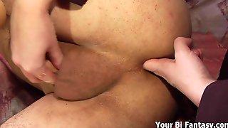 Pound my tight ass and massage my prostate