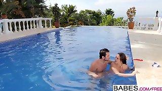 Babes - Elegant Anal - Fun Pool starring Joel and Martina Go