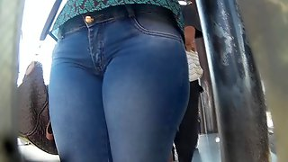 Pacotuda de jeans (big pussy in jeans) 091