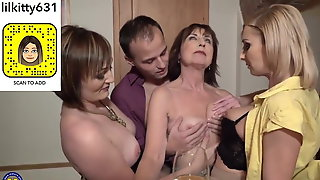 Sex party with desperate milfs