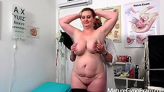Busty mature woman