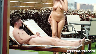Private.com - Alyssia Kent Pussy Pounded At Nudist Resort!