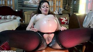 Very Crazy Pregnant Slut