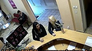 Solarium Cam Blonde teen fingers herself Public Voyeur