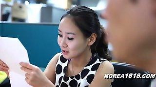 Hot Korean OFfice MILF