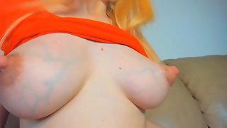 Amazing Puffy Nipples with Milk