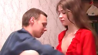 Love the pleasures of a Russian couple.