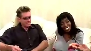 Donny Long rips open big titty black sexy mama asshole and p