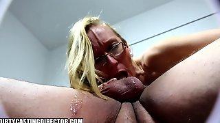 Hot Blonde Milf In Extra Hardcore Gagging Stolen Sextape