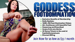 Goddess Brianna in Shoe Slave Milked and Cleans Up