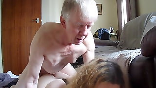 Blue eyes Daddy is fucking her Transgender Daughter