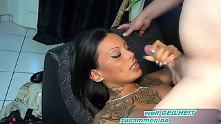 ERSTES REAL AMATEUR CASTING - BEST CUM IN MOUTH 4 EVER