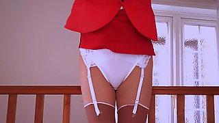 Virgin Air Hostess Stewardess Upskirt