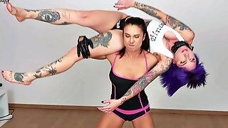 Body Scissor Female Wrestling Humiliation Ass Body Worship