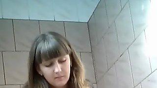 Hidden cam in women's toilet