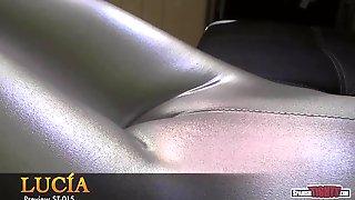Silver cameltoe