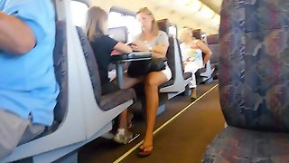 Milf I'd bang real good on the train who knew I was filming