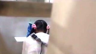 DoubleDVD - Japanese water park bathroom part1