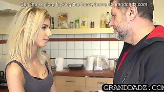 Niece enjoys uncle's huge dick