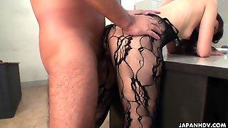 Farmer girl masturbates and sucks her step-uncle