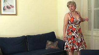 Hot-looking guy doggy-fucks 60 years old woman